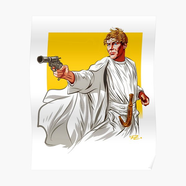 Peter O'Toole - An illustration by Paul Cemmick Poster