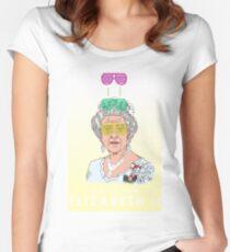 Cool Down - Queen Elizabeth II Women's Fitted Scoop T-Shirt