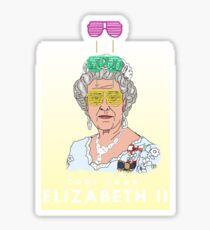 Cool Down - Queen Elizabeth II Sticker
