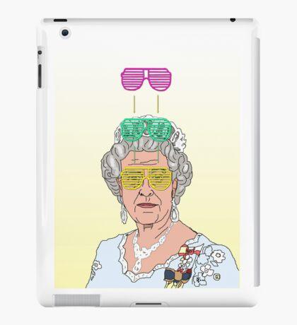 Cool Down - Queen Elizabeth II iPad Case/Skin
