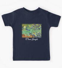 Vincent Van Gogh - Irises Kids Tee