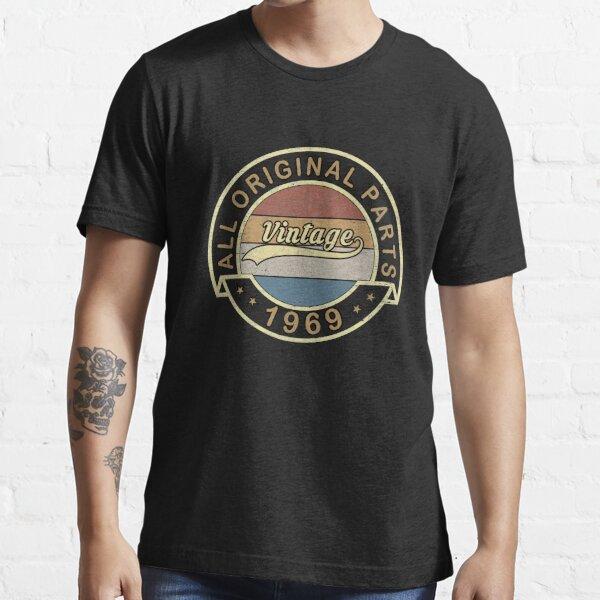 Vintage 1969 Birthday Gift Essential T-Shirt