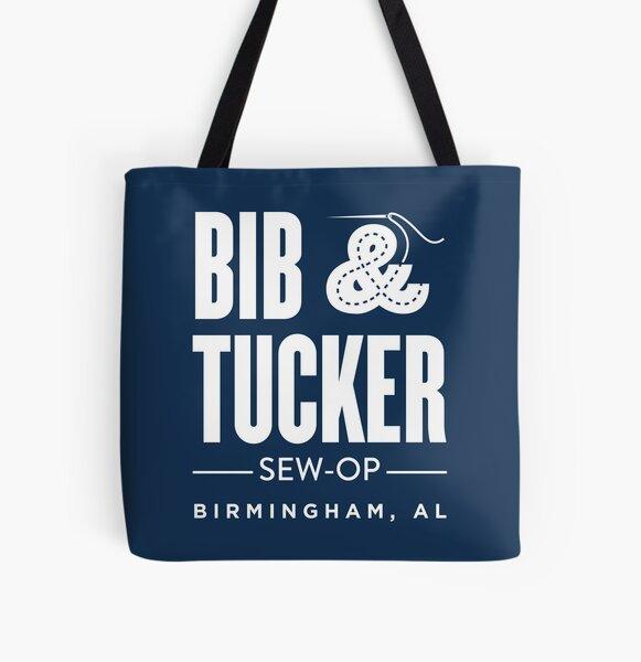 Bib & Tucker Sew-Op - white All Over Print Tote Bag