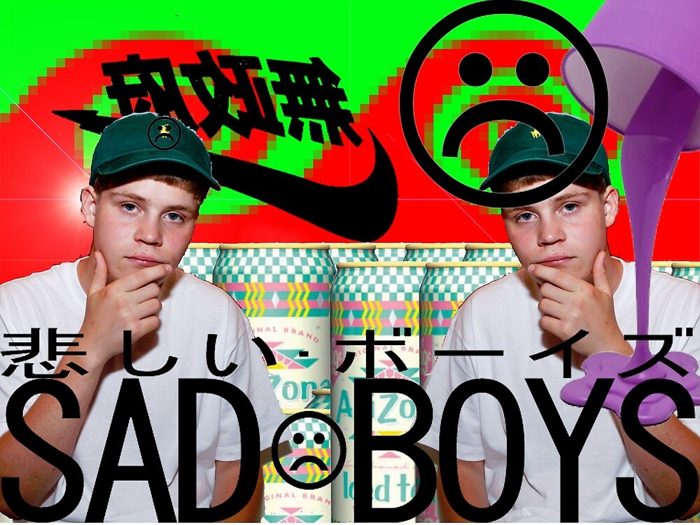 yung lean sad boys 2003 ~~~~ by parthdesai
