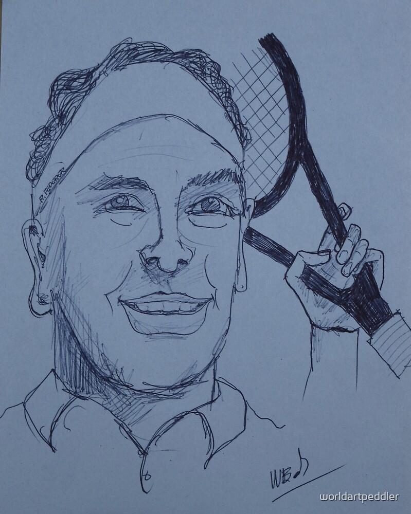 Tennis Pro by worldartpeddler