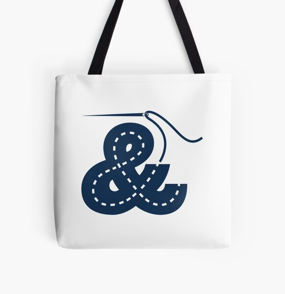 Sew-Op Ampersand All Over Print Tote Bag