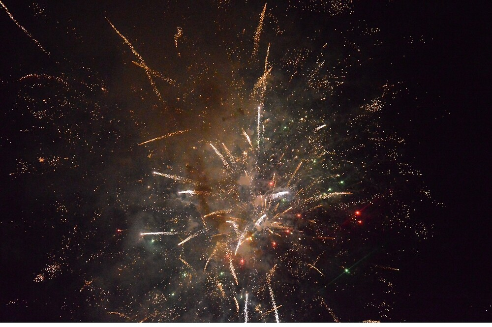 Baby You're A Firework by larcian