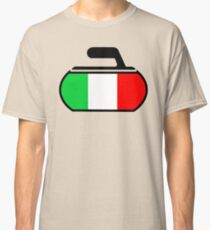Italy Curling Classic T-Shirt
