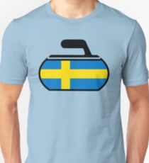 Sweden Curling T-Shirt
