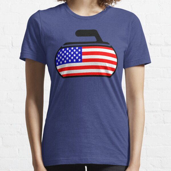 USA Curling Essential T-Shirt