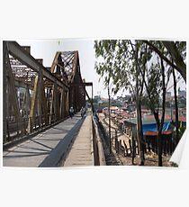 long bien bridge Poster