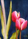 Two Tulips by Ken Powers