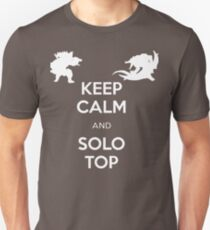 KEEP CALM and SOLO TOP - Mundo Renekton T-Shirt