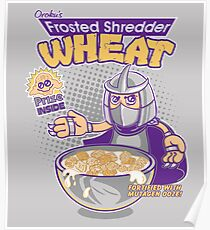 Shredder Wheat Poster