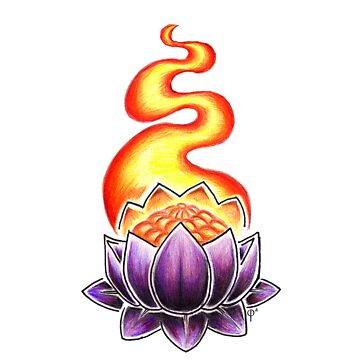 Glowing Lotus by whothefugawe