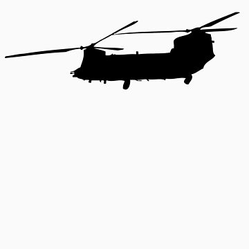Chinook Solo by rattleship