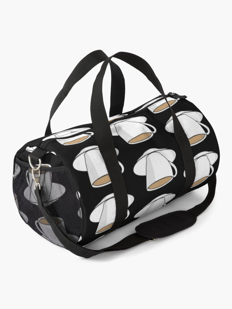 Alternate view of NDVH Tea Cup Duffle Bag