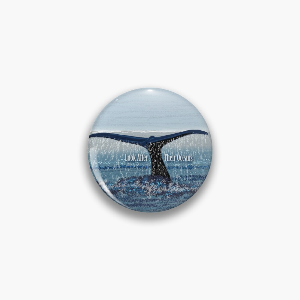 Whale Tail Pin