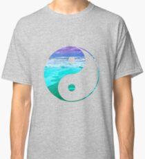 Yin & Yang (Aqua Water) Classic T-Shirt