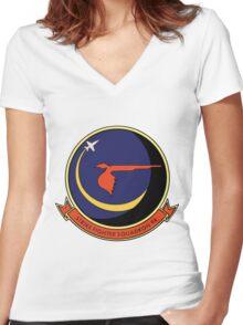 VFA-94 Mighty Shrikes Women's Fitted V-Neck T-Shirt