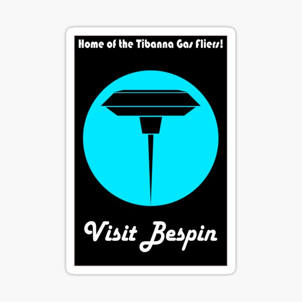 Visit Bespin 2 Sticker