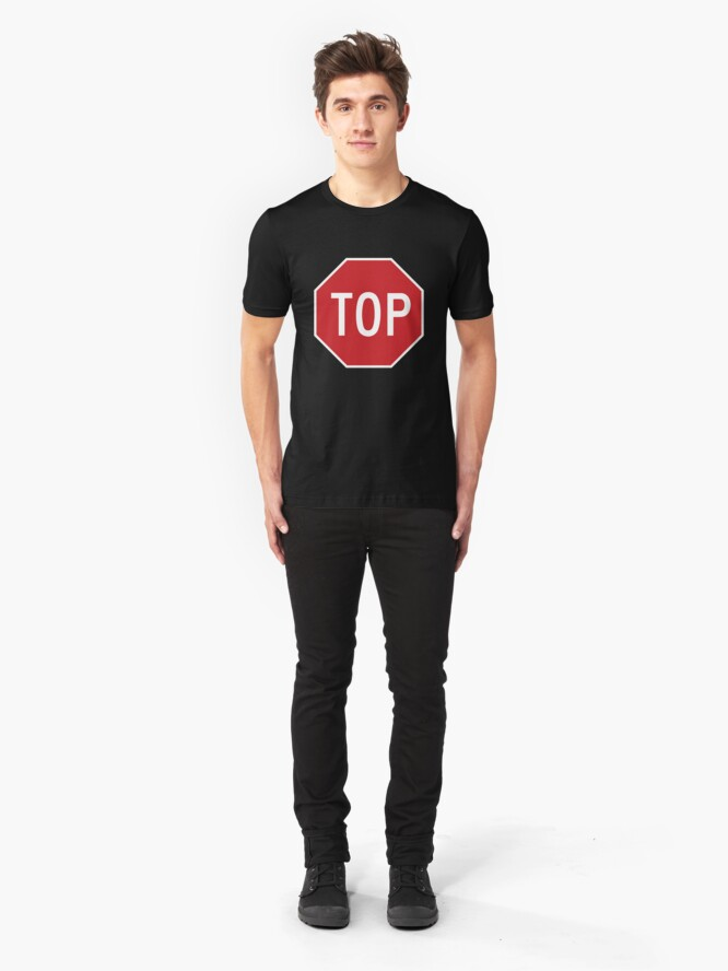Alternate view of TOP Slim Fit T-Shirt