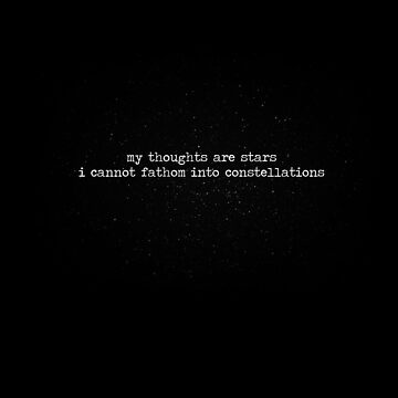 My Thoughts Are Stars by ChasingTheWind