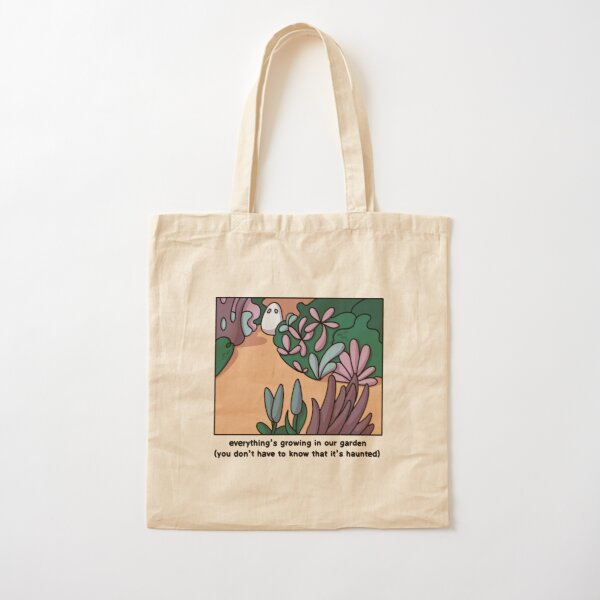 Everything's growing in our garden Cotton Tote Bag
