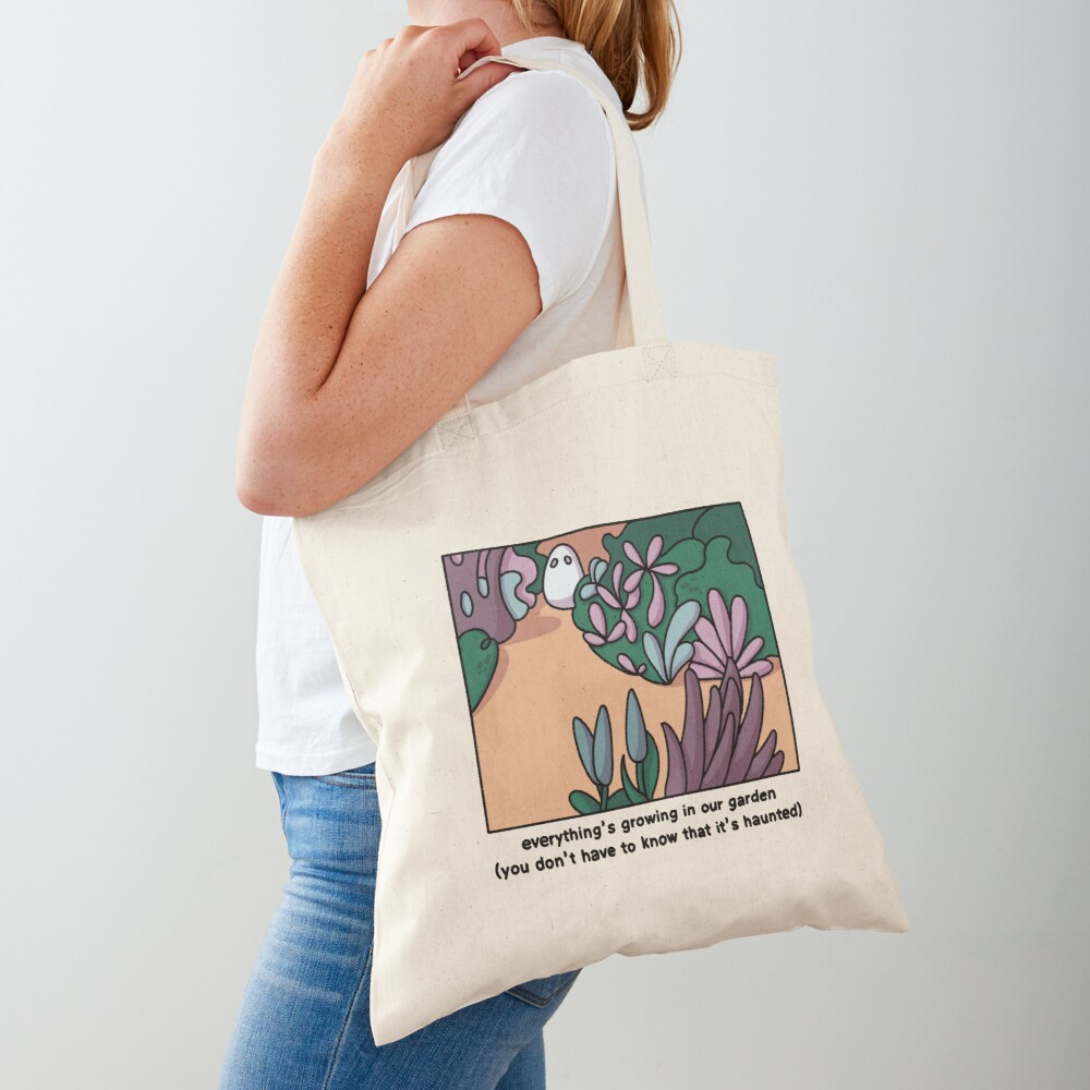 Everything's growing in our garden Tote Bag