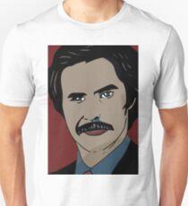 Anchorman 2 - Ron Burgundy  Unisex T-Shirt
