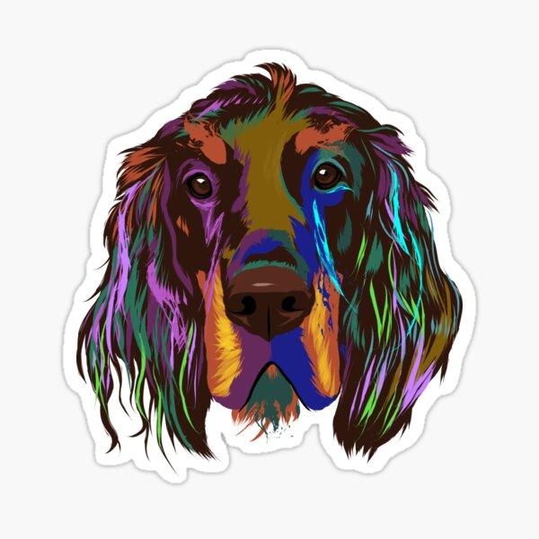 I LOVE MY GORDON SETTERDogs Doggy PuppyCar Automobile Dog Bone Magnet