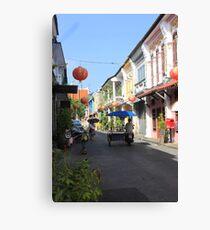 Rush Hour in Phuket Town Canvas Print