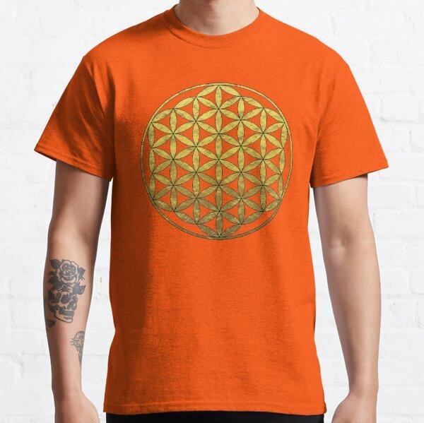 Golden Flower of Life Classic T-Shirt