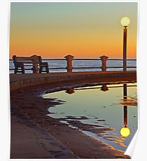 Magical Sunset in Piriapolis Poster