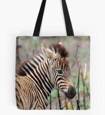 NEW TO THE WORLD - BABY ZEBRA -  BURCHELL'S ZEBRA – Equus burchelli – Bontkwagga Tote Bag