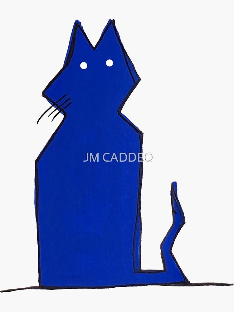 «Le chat bleu» par LeStash