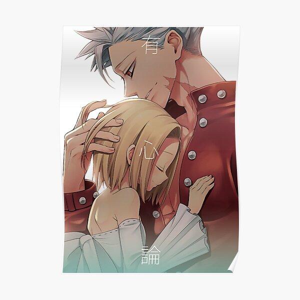 Seven Deadly Sins  - Ban & Elaine Romance Poster
