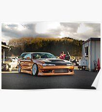 Technical Garage Sudou S14 Silvia Poster