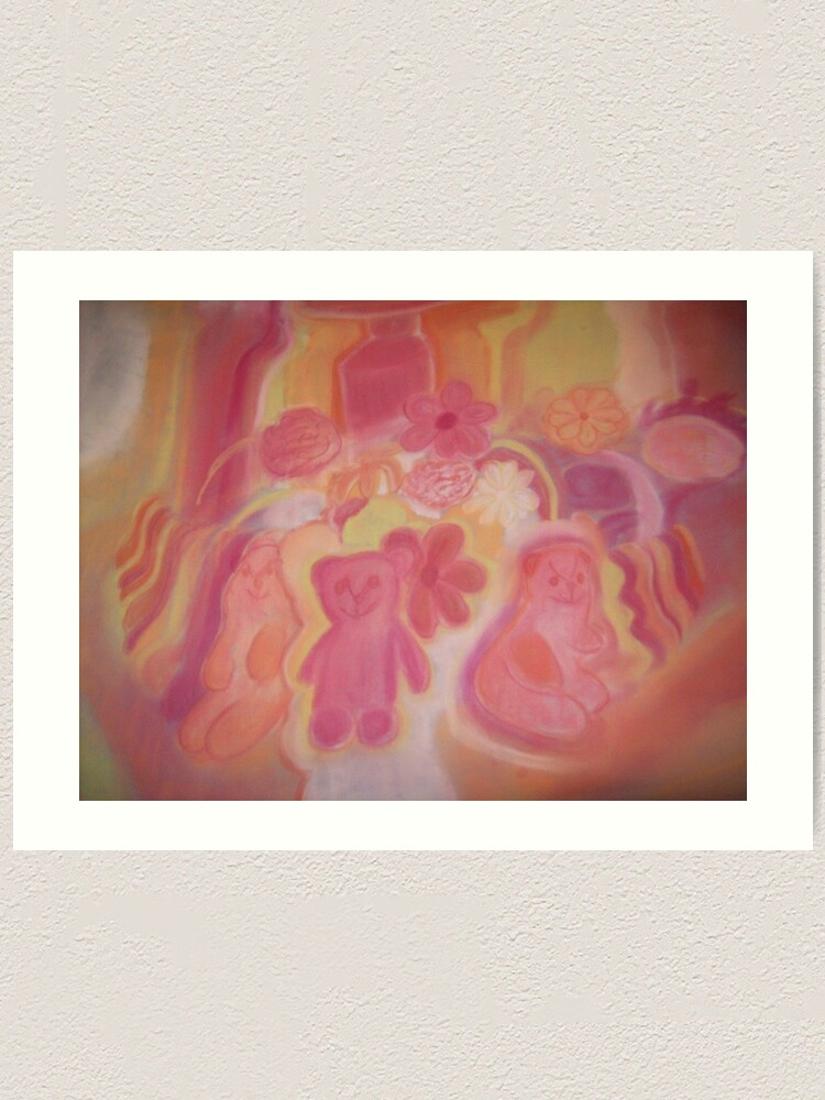 Alternate view of Warm Animals And Flowers Art Print