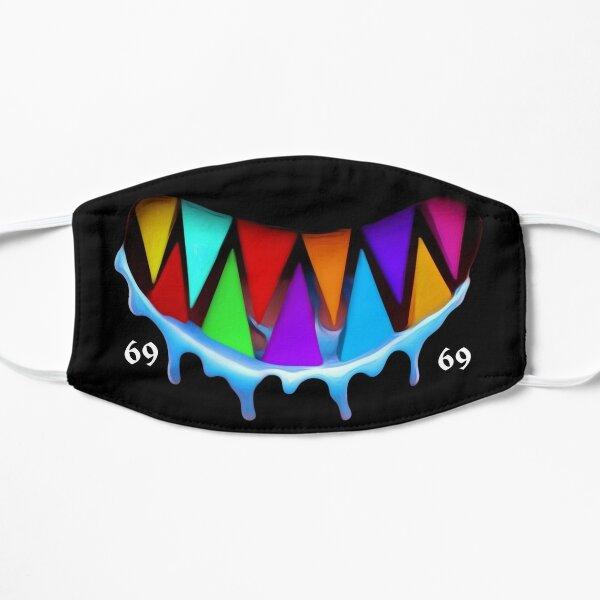 6ix9ine dents de requin colorées Masque sans plis