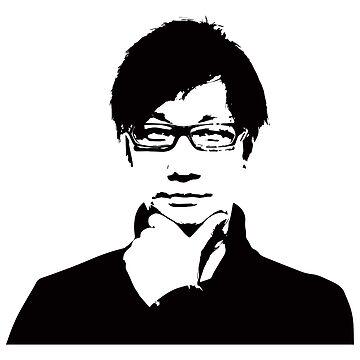 Hideo Kojima by KITTYHAWK