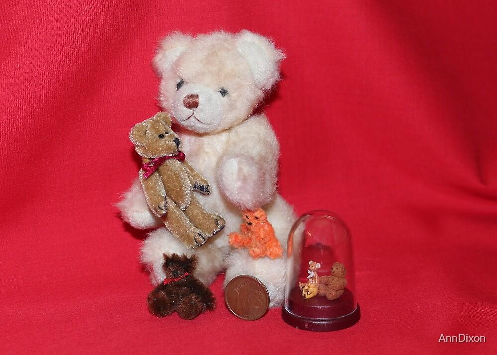 Teddy Bears by AnnDixon