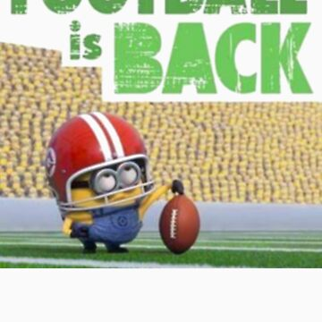 Football is Back By Minion  by tifouille