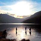 Glendalough Upper Lake by Lewis Smith