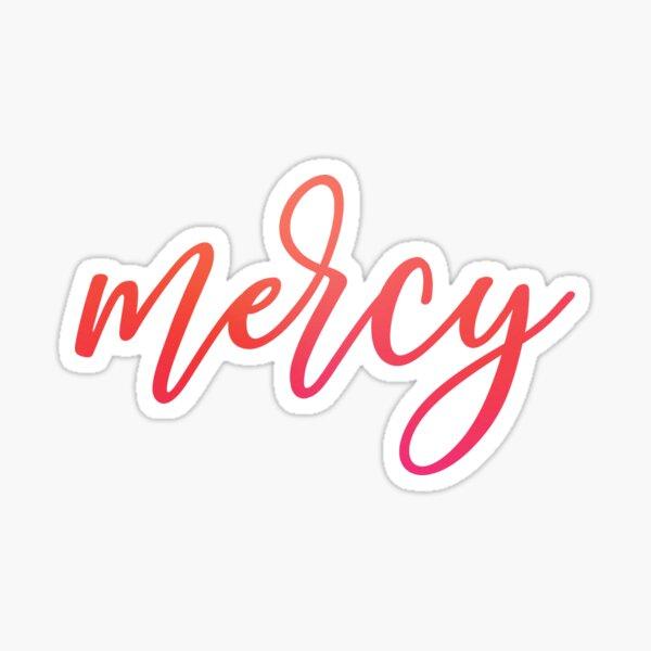 Mercy Sticker