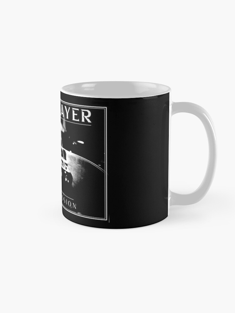 Alternate view of Bass Player out of Passion - Bassist / Bass Guitar Design (White print) Mug