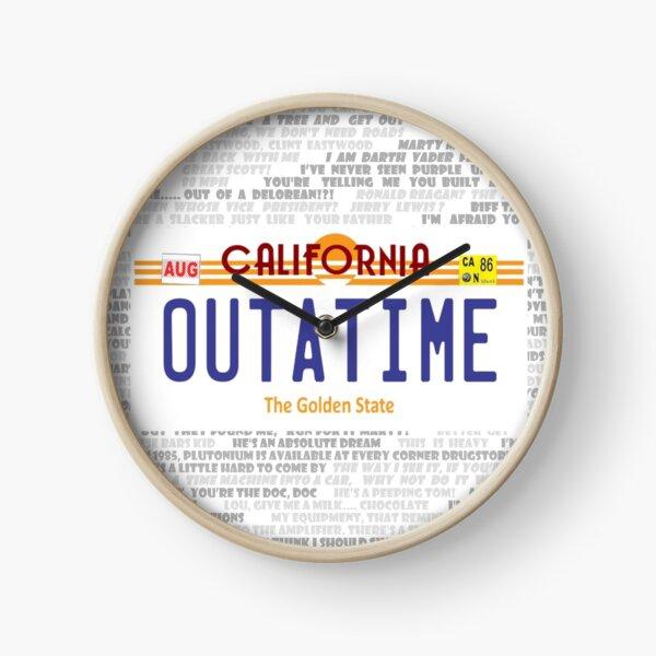 Outatime Logo Clock