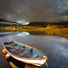 Scotland- Golden Loch by Angie Latham