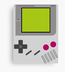 Gameboy Nintendo  Canvas Print