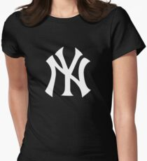 YANKEES  Womens Fitted T-Shirt